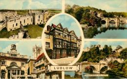 Royaume-Uni - Angleterre - Shropshire - Ludlow - Multiview - Multivues - état - Shropshire