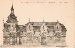 Exposition Internationale Du Nord De La France. Roubaix 1911. - Dessin Préparatoire Du Futur Palais Des Sports. - Roubaix