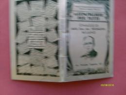 1934 Calendarietto Pubblicitario Soc.An. HEUMANN Milano Pubblictà Oggetti Parrucche - Calendari