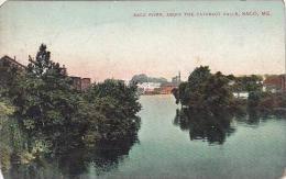 Maine Saco Saco River Above The Cataract Falls 1909