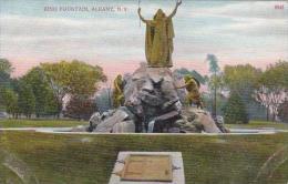 New York Albany King Fountain