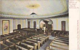Virginia Richmond Interior Of Saint Johns Church
