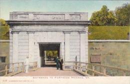 Virginia Canaden Entrance To Fortress Monroe
