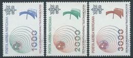1978 VATICANO POSTA AEREA TELECOMUNICAZIONI MNH ** - ED - Airmail