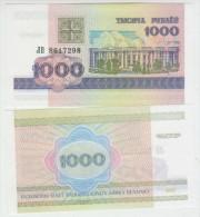 Belarus 1000 Rublei 1998 Pick 16 UNC