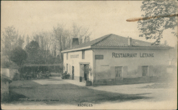 42 RIORGES / Restaurant Letang / - Riorges