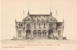 Exposition Internationale Du Nord De La France. Roubaix 1911. Dessin Préparatoire Du Palais De La Belgique. - Roubaix
