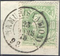 4Jj-437: N° 30: D7: NAMUR(STATION) - 1869-1883 Léopold II