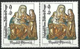 """Österreich 1999 """"Altes Kunsthandwerk""""  2er-Streifen  2 X 9.- ÖS,  ANK Nr :2324**/feinst Postfrisch - 1945-.... 2nd Republic"""