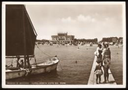MARINA DI RAVENNA  Hotel Pineta, Barca E Pontile (anni '40/'50) - Ravenna