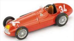 Alfa Roméo 158 - Juan Manuel Fangio - 1st GP Monaco 1950 #34 - Brumm - Brumm