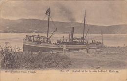 Congo Matadi Et Le Bateau Holland Moriaan - French Congo - Other