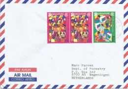 Singapore 2001 Commonwealth Eduaction Cooperation Cover - Singapore (1959-...)