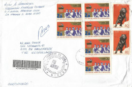 Cuba 2003 Havana Revolution Bear Barcoded Registered Cover - Cuba
