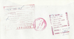 Peru 2002 Arequipa Returned Letter With Instructional Markings Cover - Peru