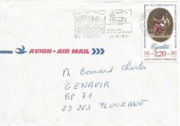 Saint Pierre Et Miquelon 1989 Renaissance De L´ile Aux Marins French Revolution Human Rights Declaration Cover - Lettres & Documents