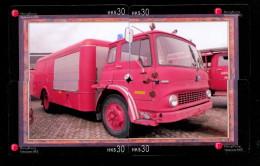 Puzzle De 4 Télécartes - Telecom IMS : Camion De Pompiers - Pompiers
