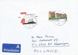 Denmark 2003 Aalborg Houses ATM EMA Label Cover - Frankeervignetten (ATM/Frama)