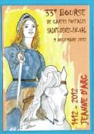C.P.M.Jeanne D'Arc - Saint-Denis-en-Val - Famous Ladies