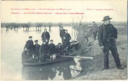 4cp-223: Hamme - Service Drij Gooten-Hamme - Dienst Dij Goten-Hamme - Inondationsde Mars1906 - Overstromingen Van Maart - Hamme