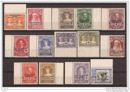 MA91-L3964TCFR.Marruecos Maroc.Marocco MARRUECOS ESPAÑOL CRUZ ROJA (Ed 91/104**) Sin Charnela.MAGNIFICA BORDE DE HOJA - Familias Reales