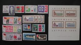 Germany - DDR - 1965 - Mi.Nr. 1088,1094,1100-10,1117-9, 1122-3,1125-37,1141-53 + Bloc 23-24**MNH- Look 2 Scans - DDR