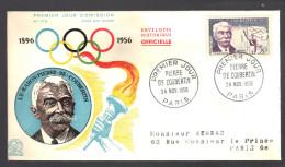 FRANCE 1956 N° 1088 Obl.  Sur Env./FDC - FDC