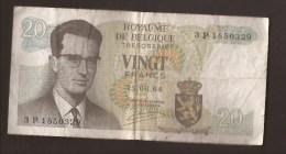 België Belgique Belgium 15 06 1964 20 Francs Atomium Baudouin. 3 P 1850329 - [ 6] Treasury