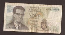België Belgique Belgium 15 06 1964 20 Francs Atomium Baudouin. 3 P 4233480 - [ 6] Treasury