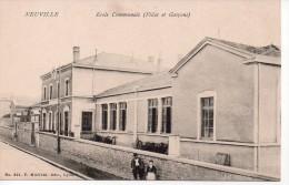 NEUVILLE SUR SAONE - Ecole Communale (filles Et Garçons) (6) - Neuville Sur Saone