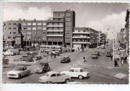 REF 182 CPSM 59 DUNKERQUE Angle Place Jean Bart Et Boulevard Ste Barbe N 700 Simca Citroen 2CV DS N° 700 - Dunkerque