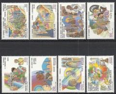 1987 VATICANO I VIAGGI DEL PAPA NEL MONDO GIOVANNI PAOLO II MNH ** - ED - Nuovi