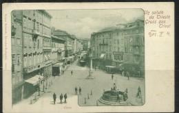 ITALIA TRIESTE CARTOLINA ANTICA NUOVA UNUSED - Trieste