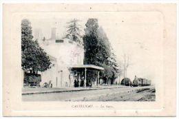 65 - Hautes Pyr�n�es /  CASTELNAU Rivi�re-Basse -- La Gare (train).