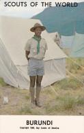 Boy Scouts Of The World, BURUNDI, 1960´s - Burundi