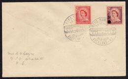 B0401 NEW ZEALAND 1959, 50th Anniv Travelling Post Office (RTPO), Whakatu Backstamp - New Zealand