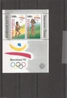 JO De Barcelone -1992 ( BF 82 XXX -MNh- D'Indonésie) - Estate 1992: Barcellona