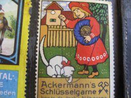 150 Reklamemarken Cinderellas Aufkleber PUB Advertising Stamps Posterstamps Sluitzegels -  Litho Approx 1900 à 1914 - Cinderellas