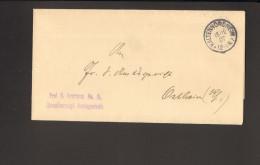 """DR Brief V.1907 Aus Kaltennordheim N. Ostheim M.Stempel """"frei Lt.Ablösung Nr.15"""" Ankunftstempel 2 Bilder - Dienstpost"""