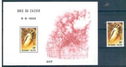 Belgium**CAZIER COAL MINE ACCIDENT-SHEET+Stamp From Sheet-1981-ACCIDENT CHARBONNAGE- KB KOHLE BERGWERK UNFALL-STEENKOOLM - Belgium