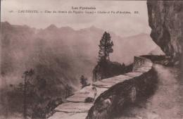 40100   CAUTERETS  1933 TIMBRE VERSO - Cauterets