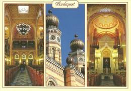 JUDAICA * JEW * JEWISH * DOHANY STREET * SYNAGOGUE * Simix Budapest ZS 12 * Hungary - Judaísmo