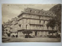 carte postale ancienne , LA BOURBOULE - Puy de D�me : h�tel des �trangers