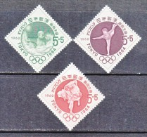 JAPAN  B 15-17    *    SPORTS  OLYMPICS - Unused Stamps