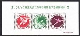 JAPAN  B 17a    **    SPORTS  OLYMPICS - 1926-89 Emperor Hirohito (Showa Era)