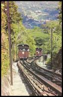 MALAYA. PENANG HILL RAILWAY, TRAINS. 1950´s Unused Postcard - Malaysia