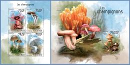 tg14215ab Togo 2014 Mushrooms 2 s/s