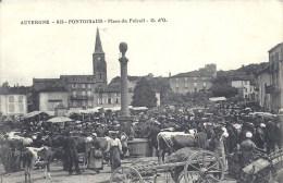 AUVERGNE - 63 - PUY DE DOME - PONGIBAUD - Place Du Foirail - Foire - Belle Animation - France