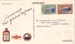 TRINITE - CROISIERE - PLASMARINE - IONYL - CROISIERE ATLANTIQUE PLASMARINE 1951-1952-BORD DE MER. - Trinidad & Tobago (1962-...)