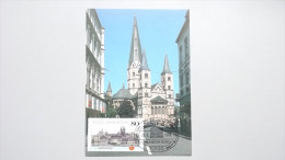 Deutschland BRD 1402 Yt 1234 Sc 1568 Maximumkarte MK/MC, Orts-SST Phila-Bonn, 2000 Jahre Bonn - [7] Federal Republic
